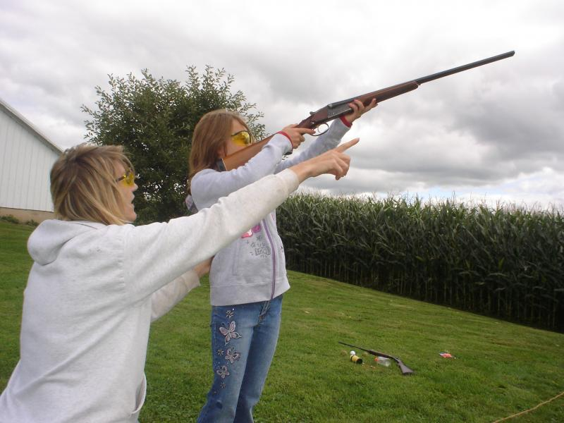 Have fun and teach the kids gun safety and control all at the same time. Can-PoP