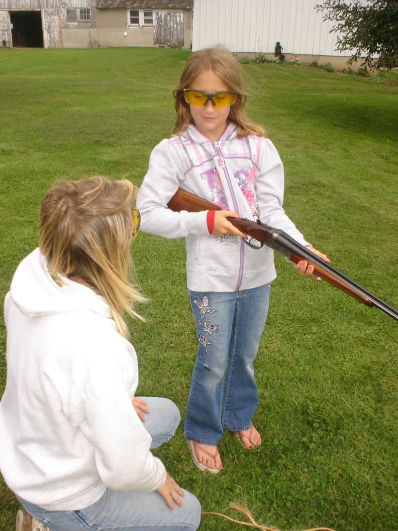 Can-Pop gives you the opportunity to teach your kids gun control and safety